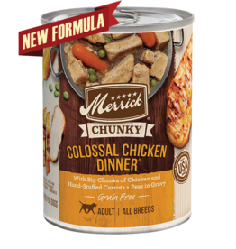 Merrick Merrick Dog Chunky Colossal Chicken Dinner 12oz