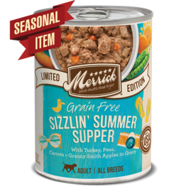 Merrick Merrick Dog Sizzlin' Summer Supper 12oz