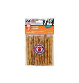 DO - Dogit Dogit American Beefhide Twist Sticks - Chicken Flavour - 12.7 cm (5in) - 10 pack