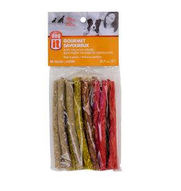 DO - Dogit Dogit Gourmet Rawhide Soft Crunchy Sticks - 12.7 cm (5 in) - 20 pack