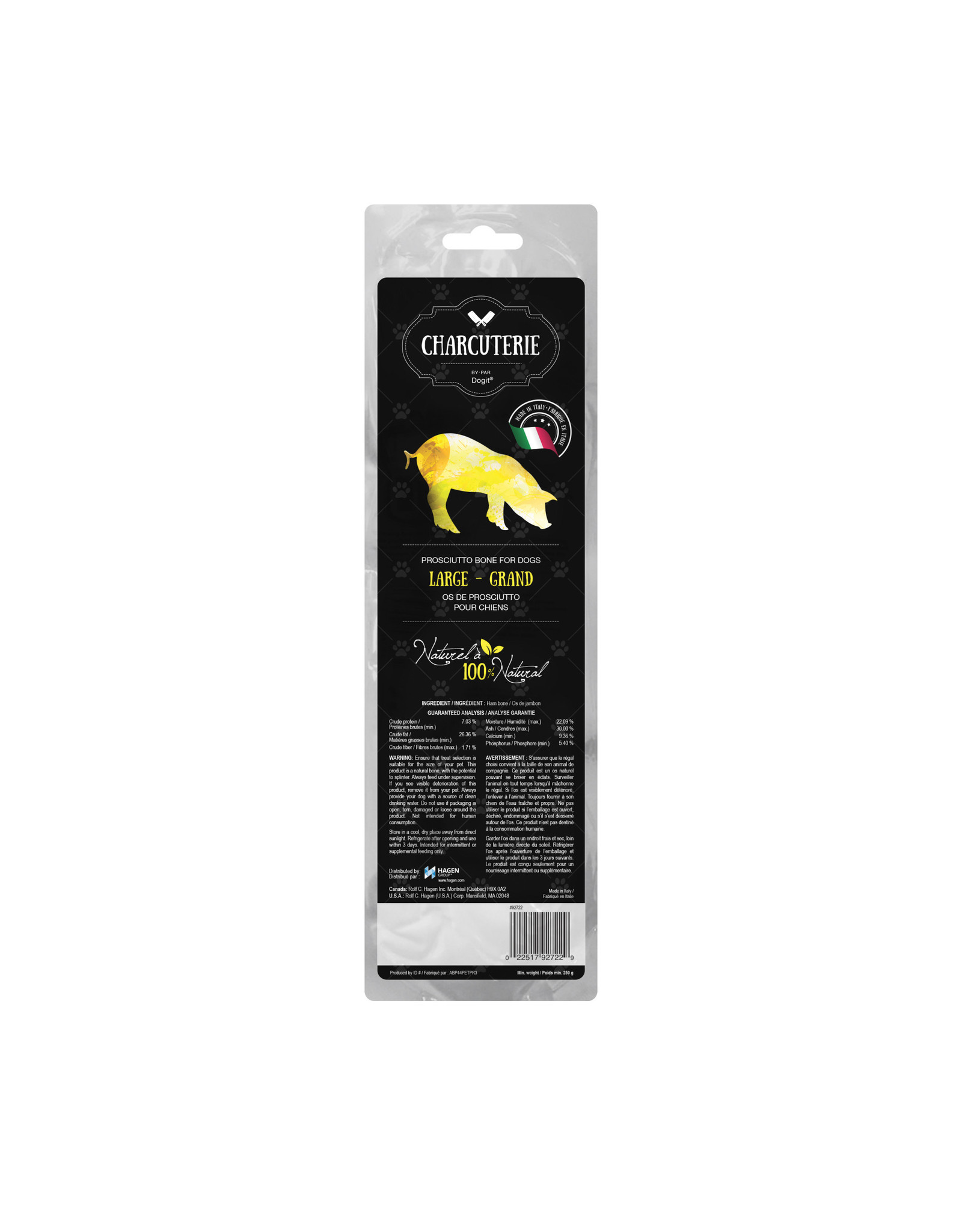 DO - Dogit Charcuterie by Dogit Prosciutto Bone for Dogs