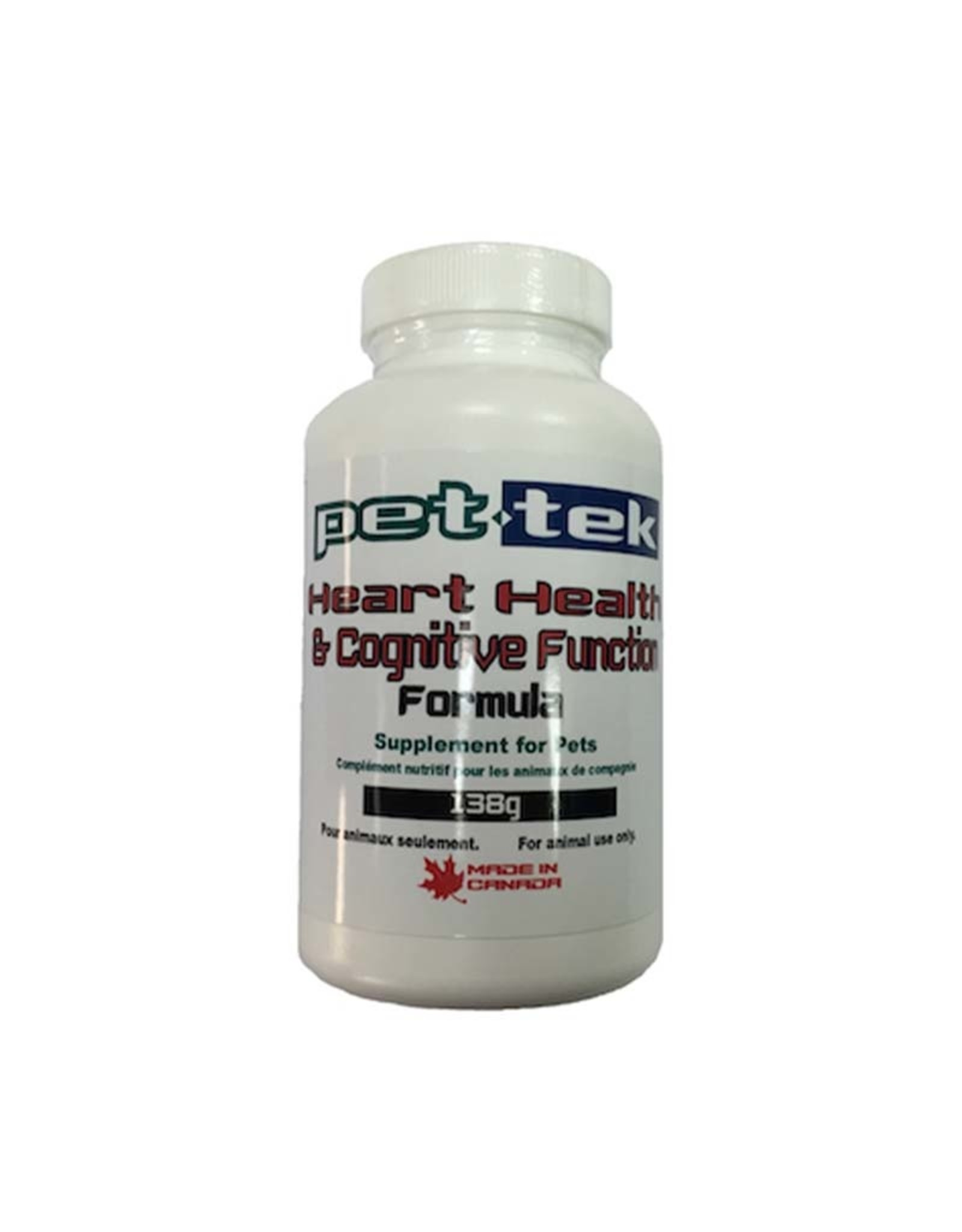 Pet Tek Pet Tek Heart Health & Cognitive Function 138g