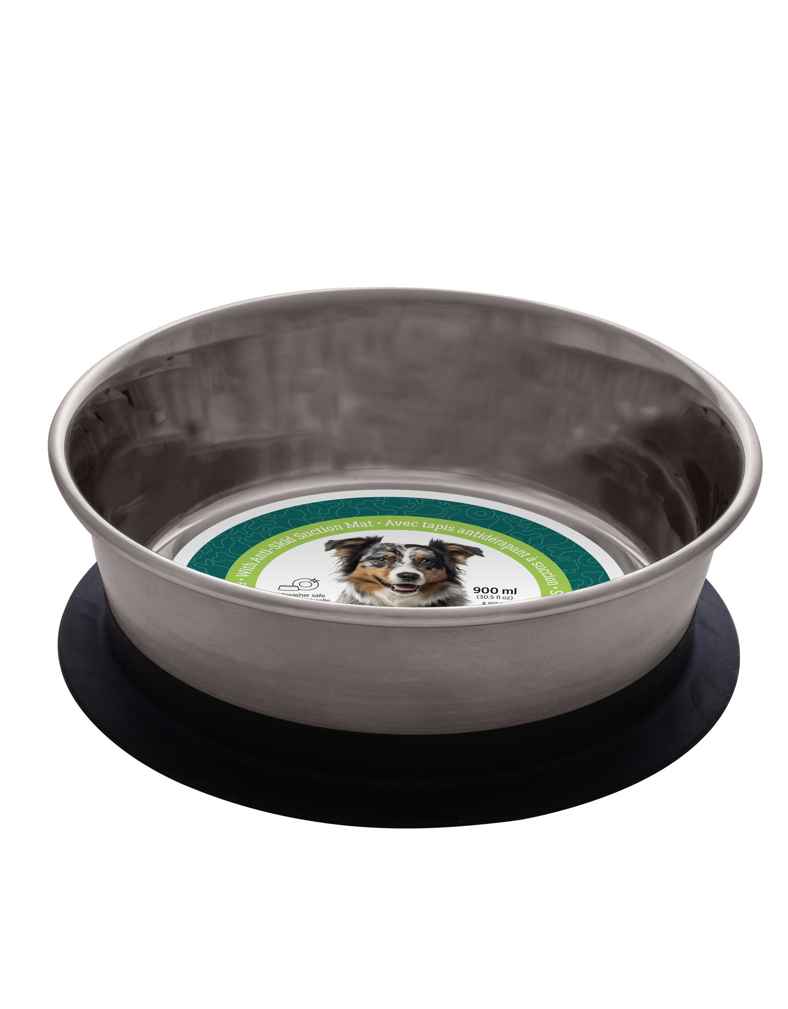 DO - Dogit Dogit Stainless Steel Non-Skid Stay-Grip Dog Bowl