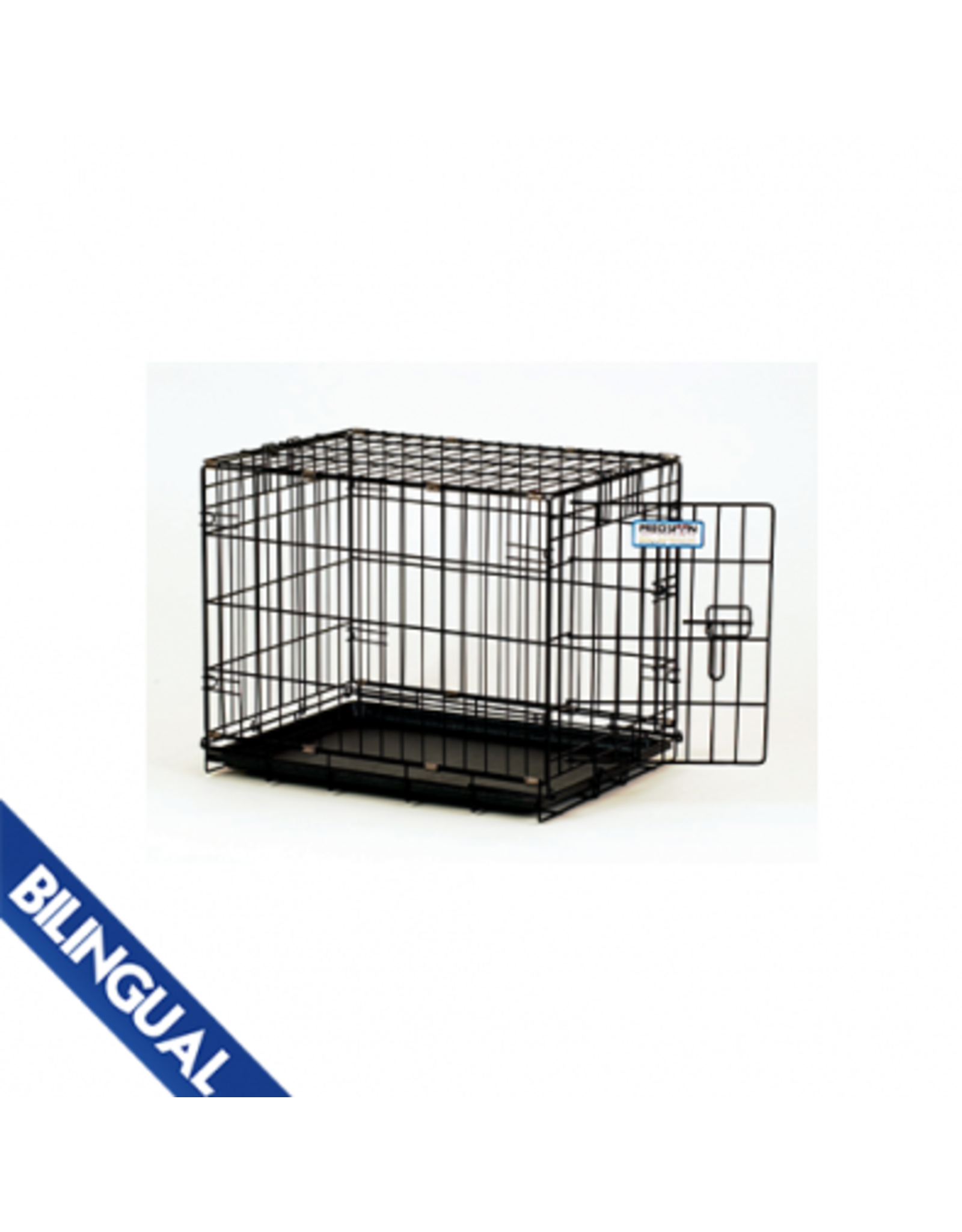 Precision Precision Dog Crate 2-Door - Black