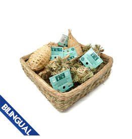 Oxbow OXBOW \ Enriched Life \ Maraca Chew & Crazy Hay Ball Basket
