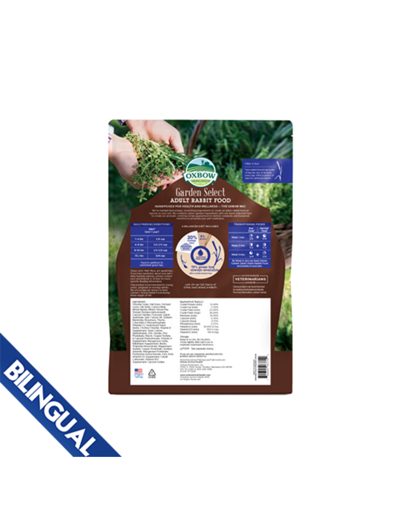 Oxbow Oxbow Garden Select  Adult Rabbit Food