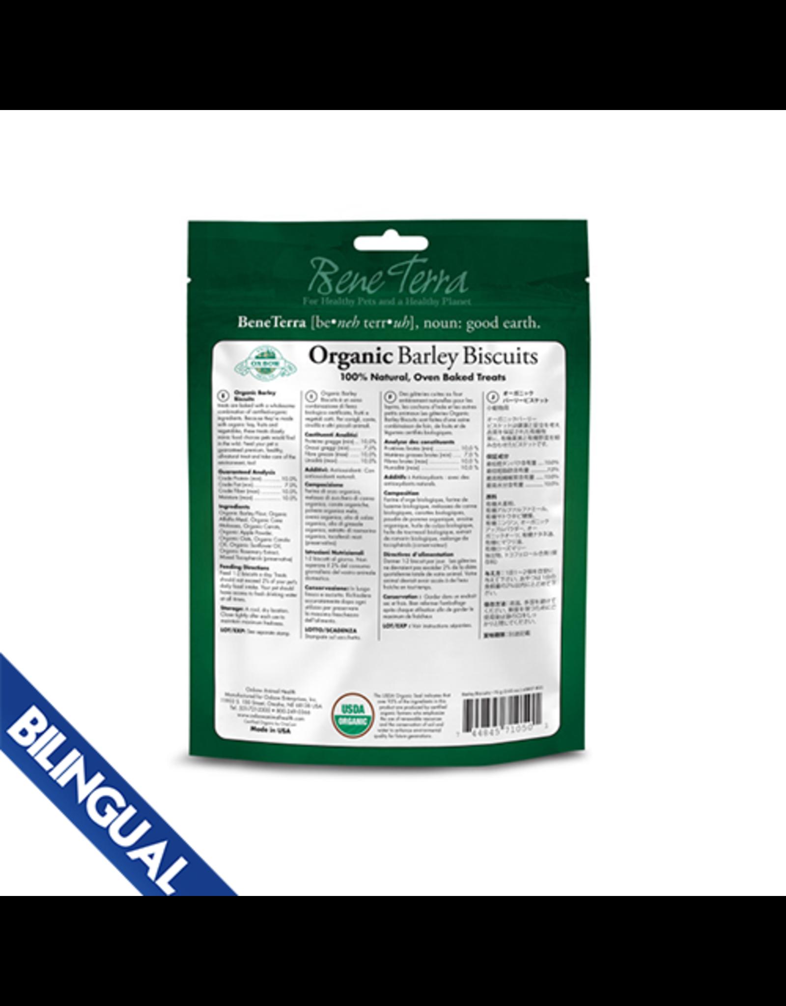 Oxbow OXBOW \ Organic \ Barley Biscuits 75gm