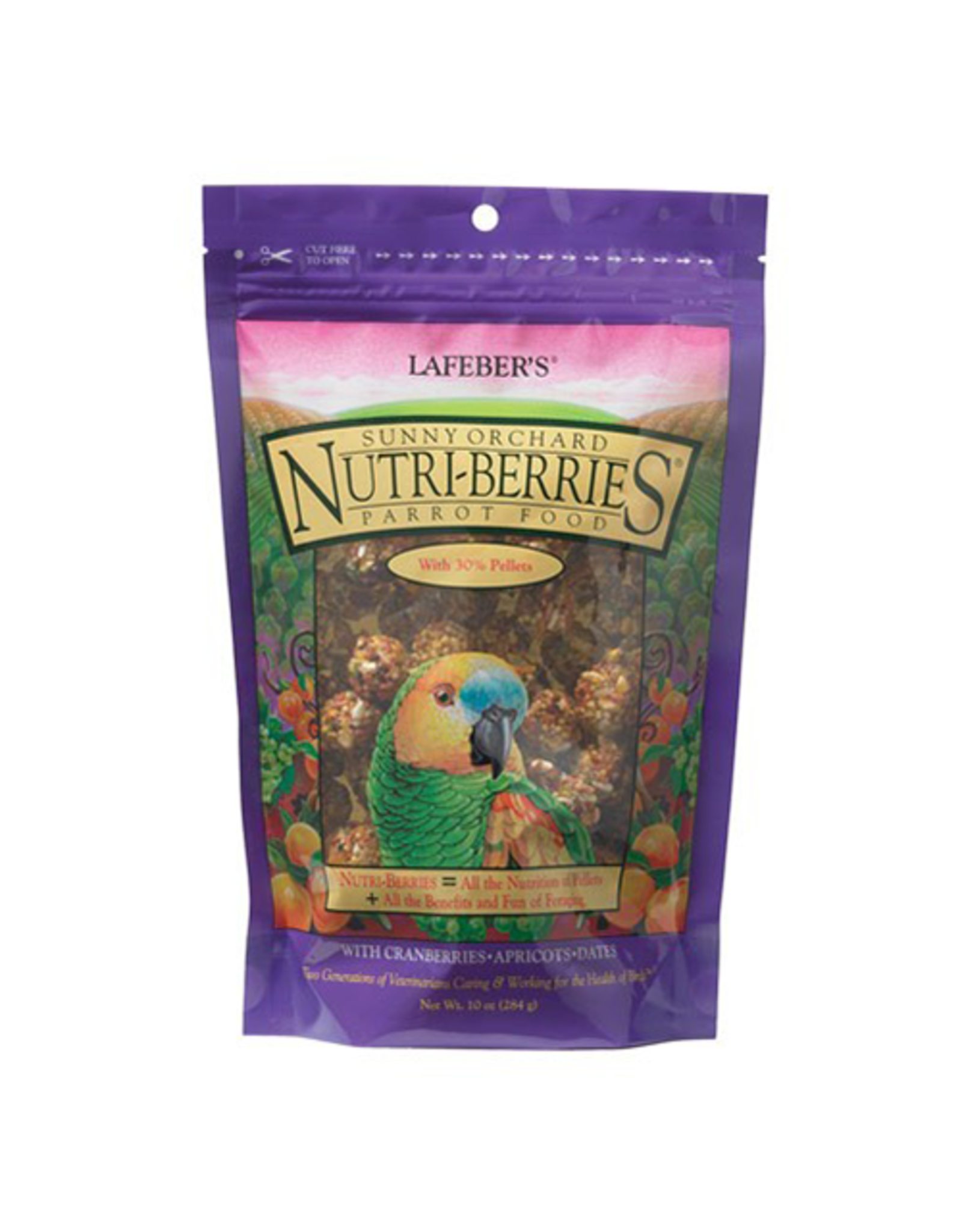 Lafebers Lafeber Nutri-Berries Sunny Orchard Parrot 10oz