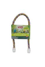 LW - Living World Living World Multi-Colored Rope Perch - 16mm Diameter