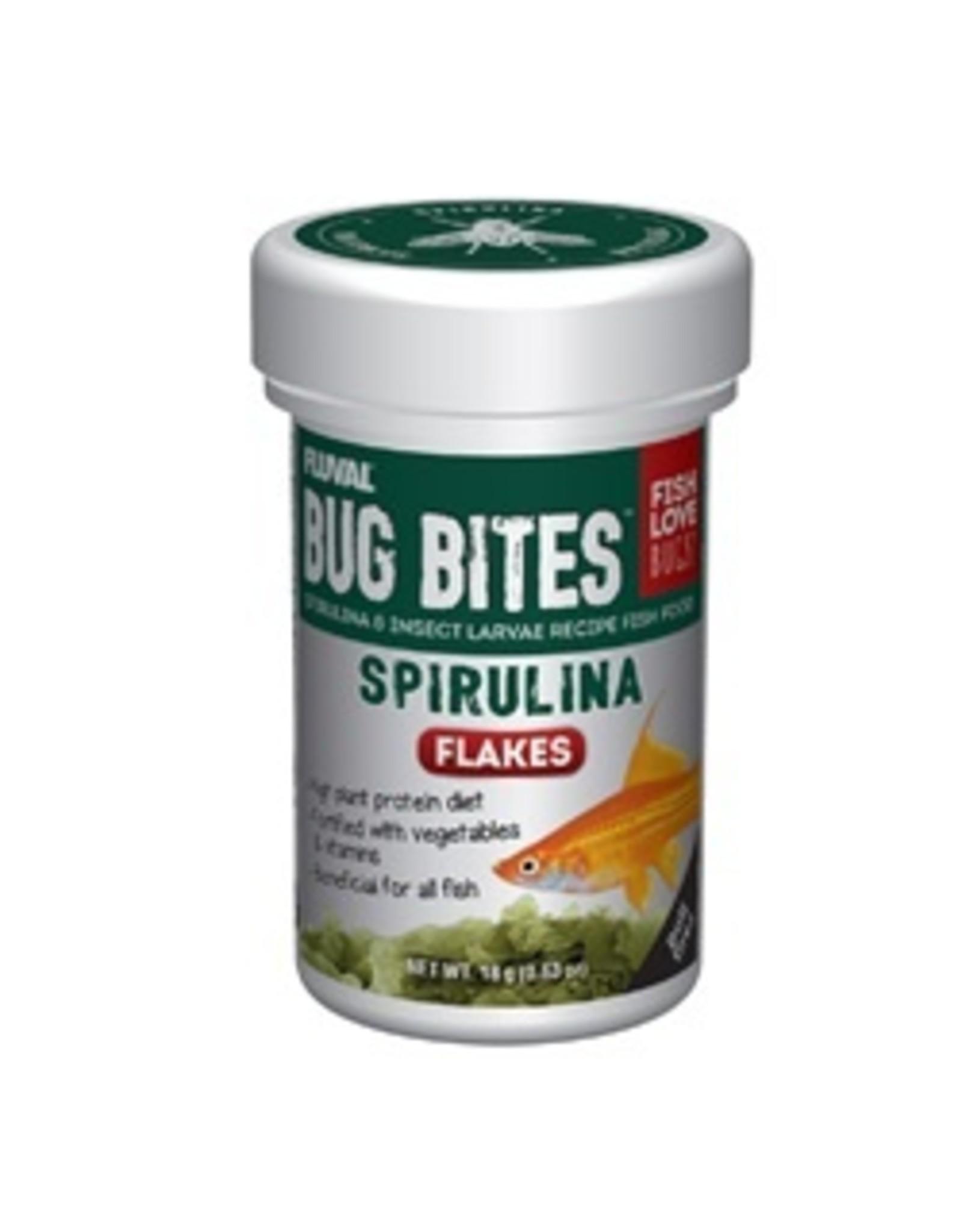 FL - Fluval Fluval Bug Bites Spirulina Flakes 18g