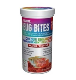 FL - Fluval Fluval Bug Bites Colour Enhancing Flake 90g
