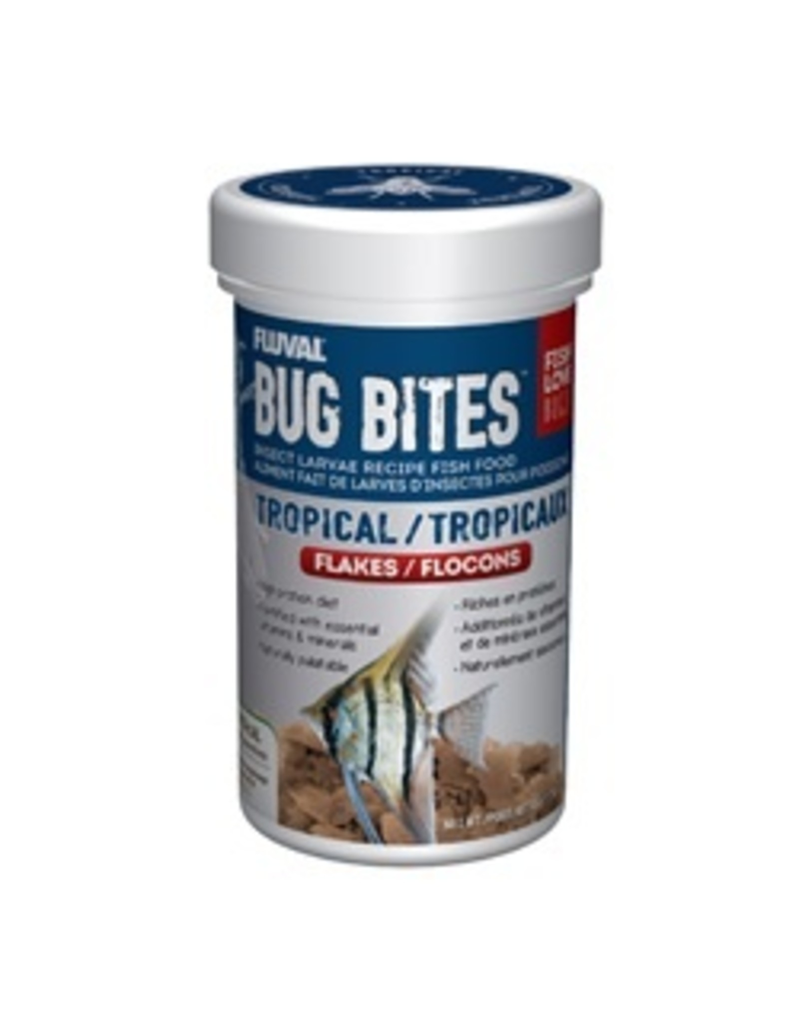 FL - Fluval Fluval Bug Bites Tropical Flakes 45g