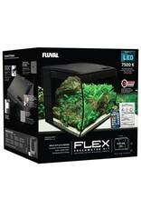 FL - Fluval Fluval Flex Aquarium, Black,  34L(9gal) - PP