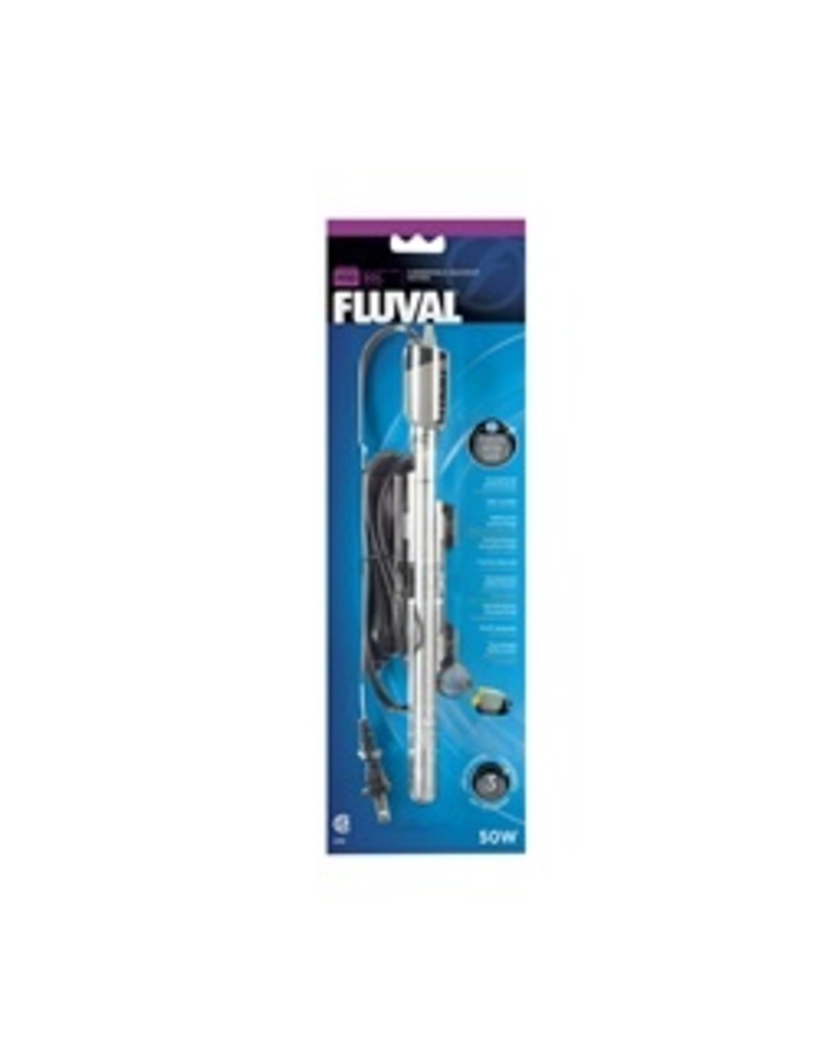 FL - Fluval Fluval M50 Submersible Heater 15GAL 50W