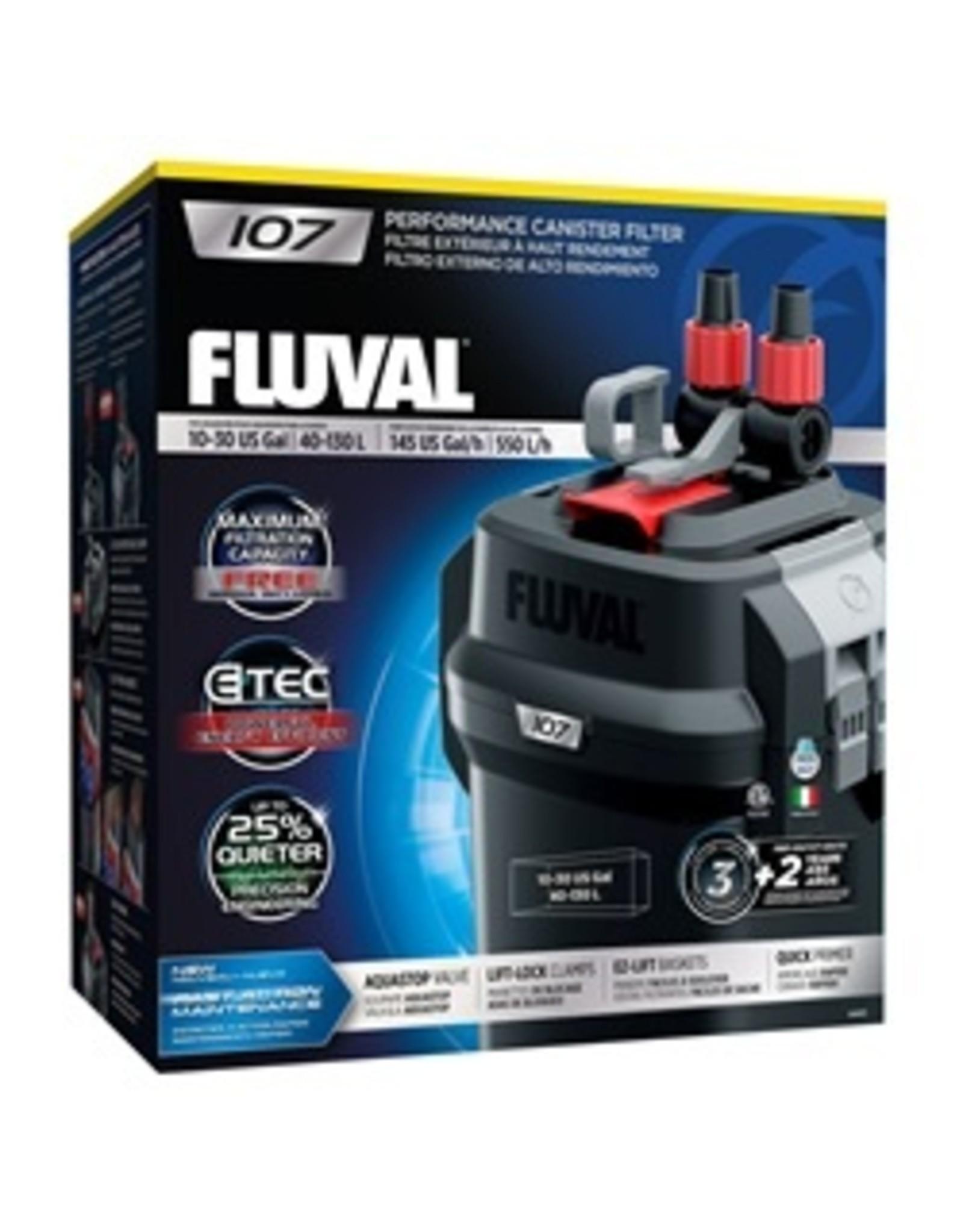 FL - Fluval Fluval 107 CANISTER FILTER - PP