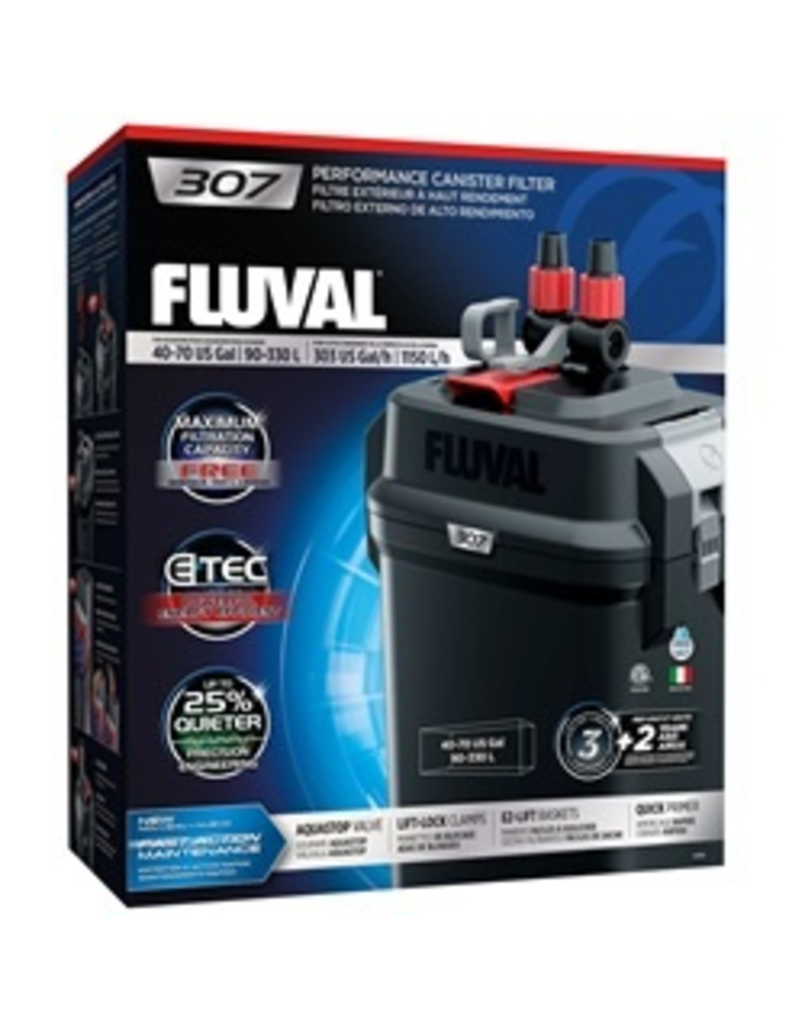 FL - Fluval Fluval 307 CANISTER FILTER - PP