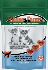 Tollden Tollden Farms Raw Beginnings, puppy food 8lb (16 8oz patties)