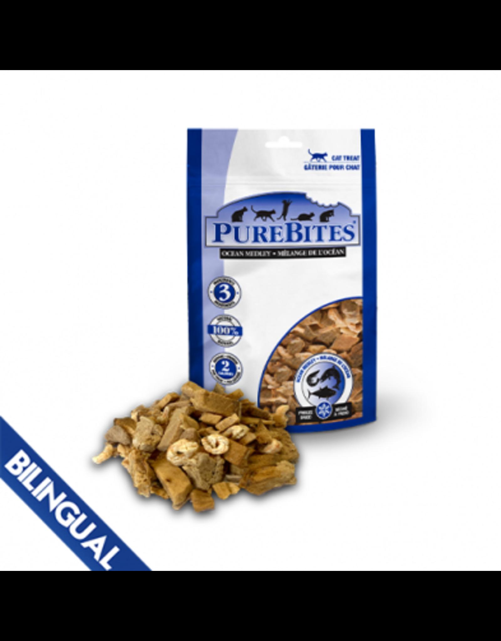 Purebites PureBites \ Cat \ Ocean Medley 0.77oz\22g