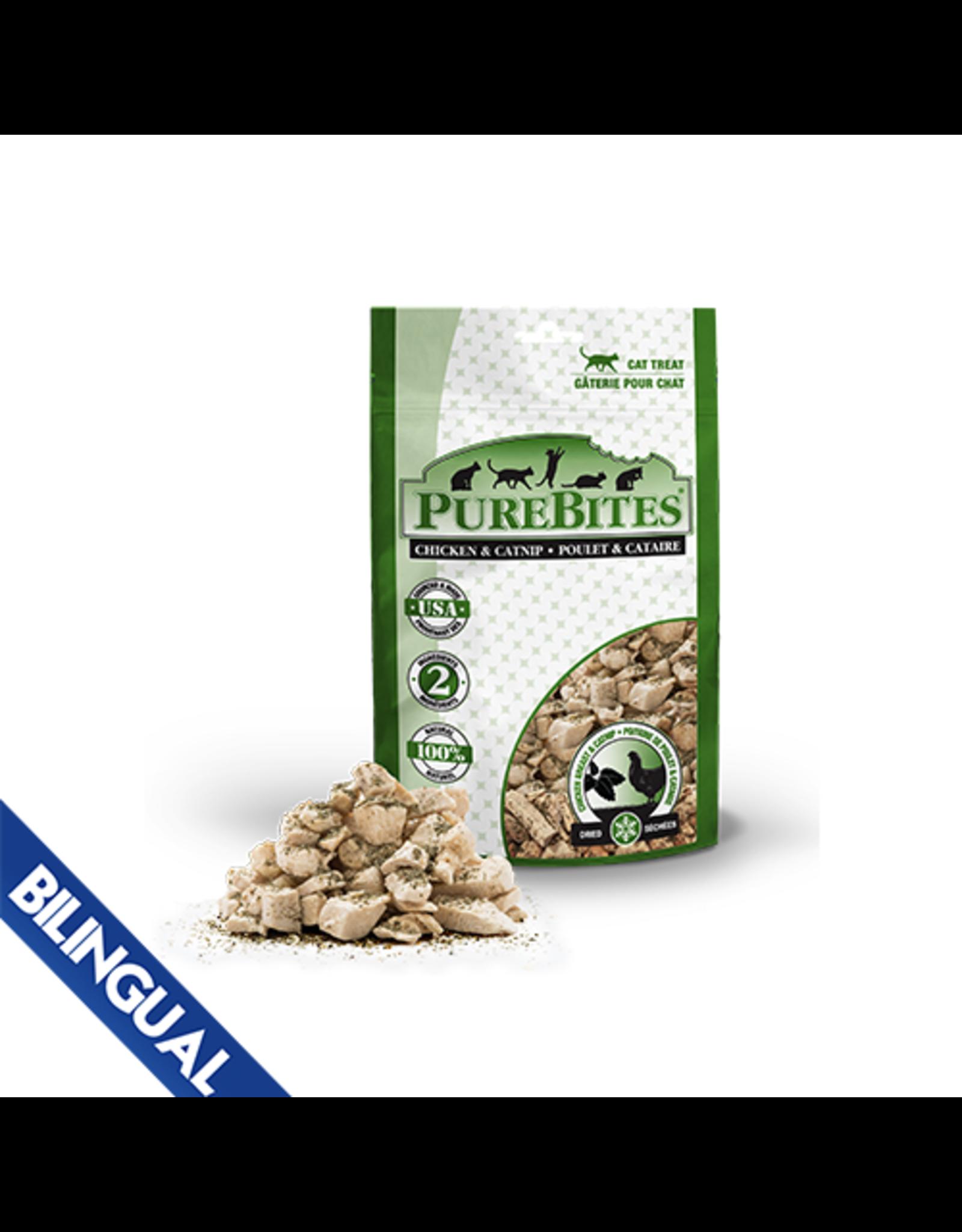 Purebites PureBites \ Cat \ Chicken Breast & Catnip 1.3oz\37g