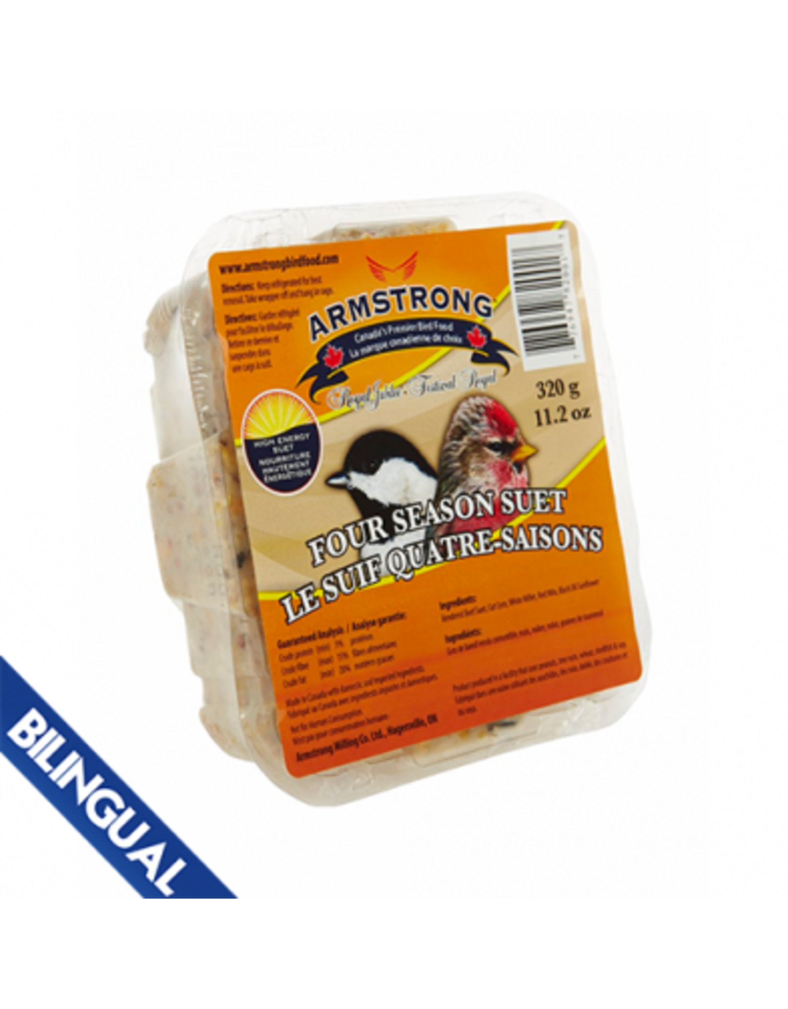 Armstrong Milling Armstrong Four Season Suet  320 g