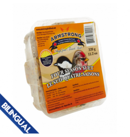 Armstrong Milling Armstrong Four Season Suet  320 g