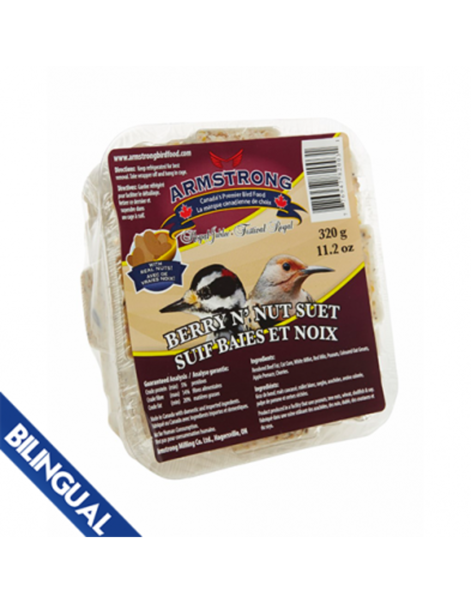 Armstrong Milling Armstrong Berry N'Nut Suet 320 g