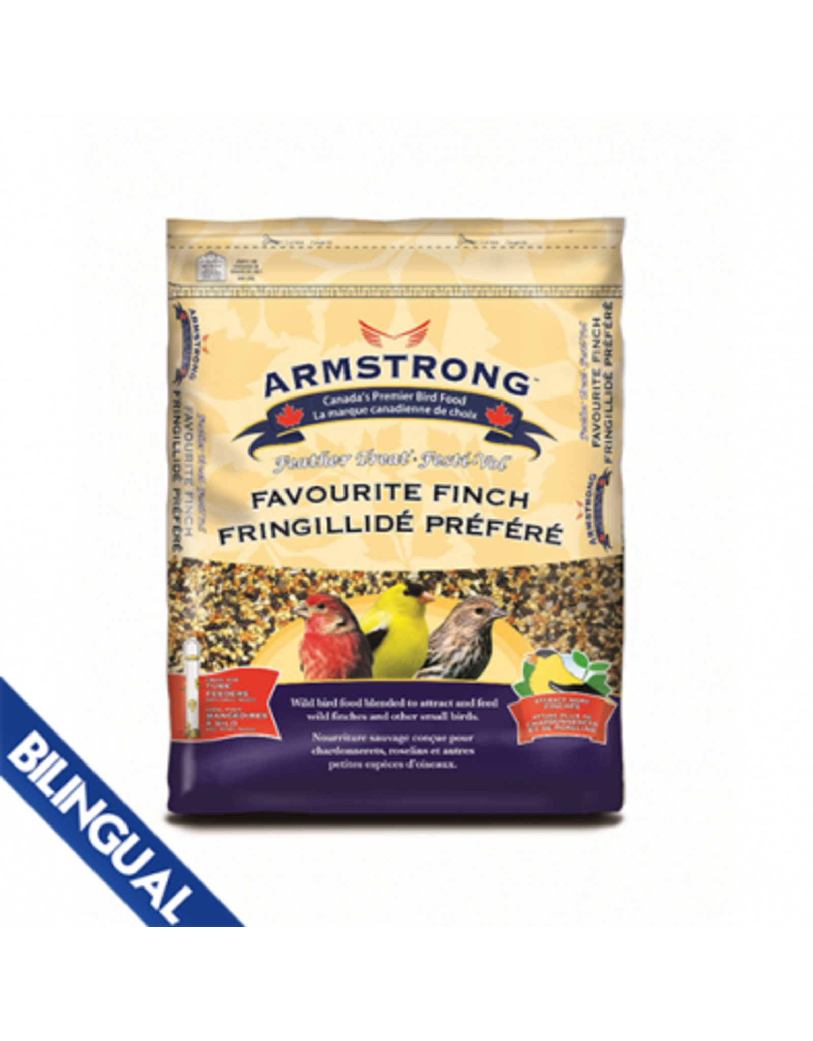 Armstrong Milling/ Scotts ARMSTRONG FEATHER FAVOURITE FINCH 7KG