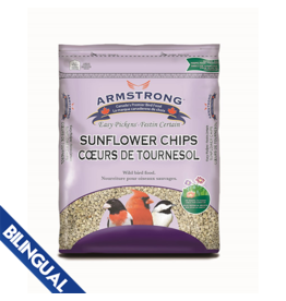 Armstrong Milling/ Scotts ARMSTRONG SEEDS SUNFLOWER CHIPS 1.8KG
