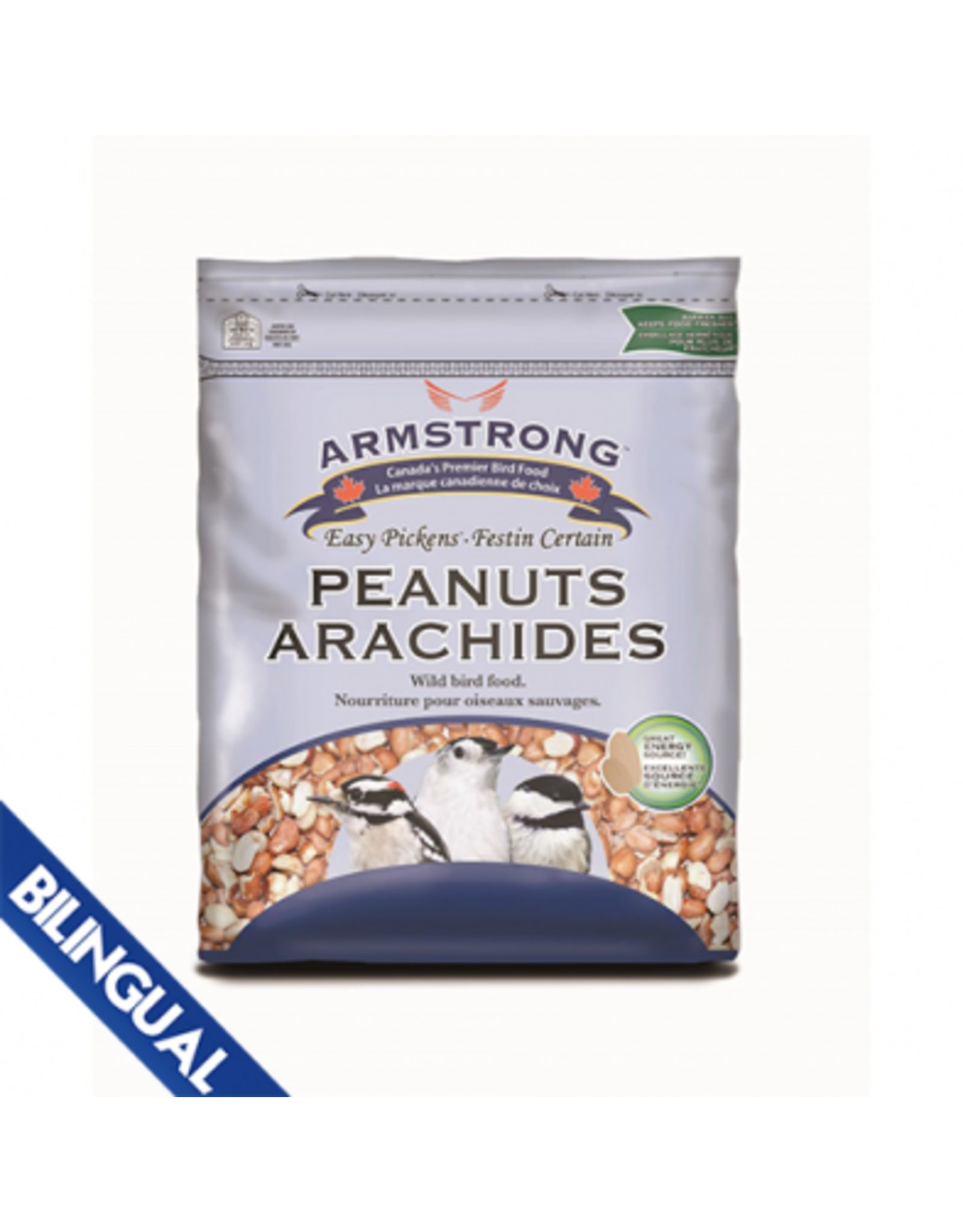 Armstrong Milling/ Scotts Armstrong peanut halves 2kg