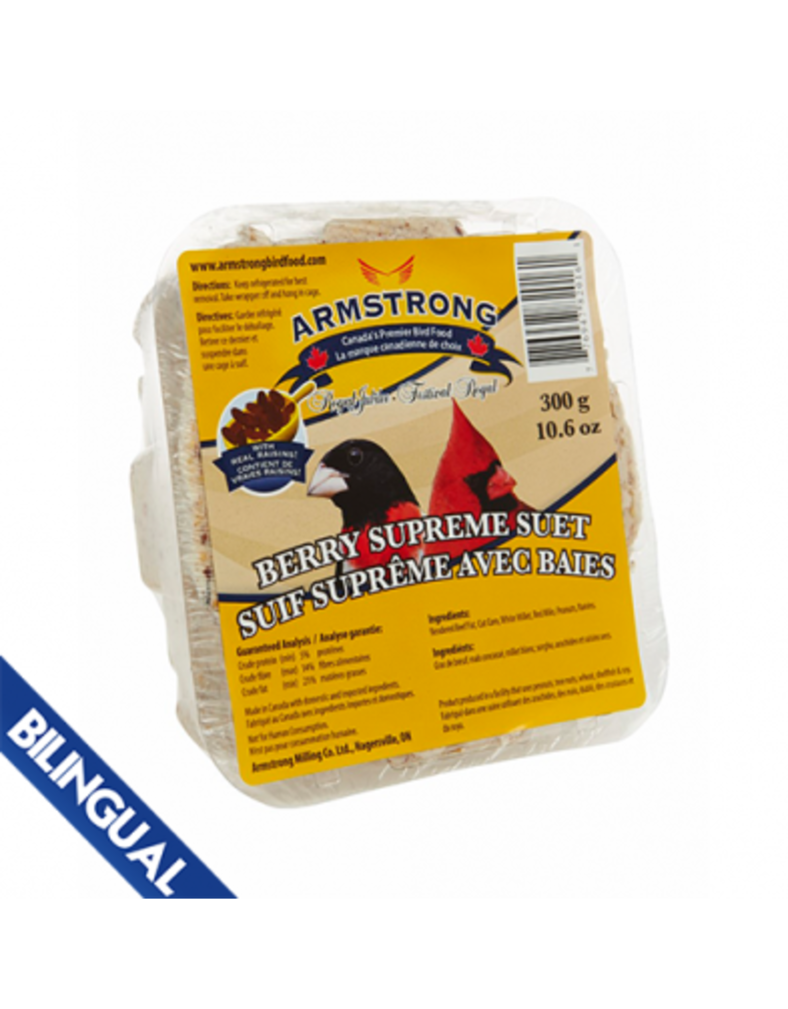 Armstrong Milling/ Scotts ARMSTRONG SUET BERRY SUPREME 300G