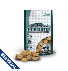 Purebites Purebites Dog Beef & Cheese Treats