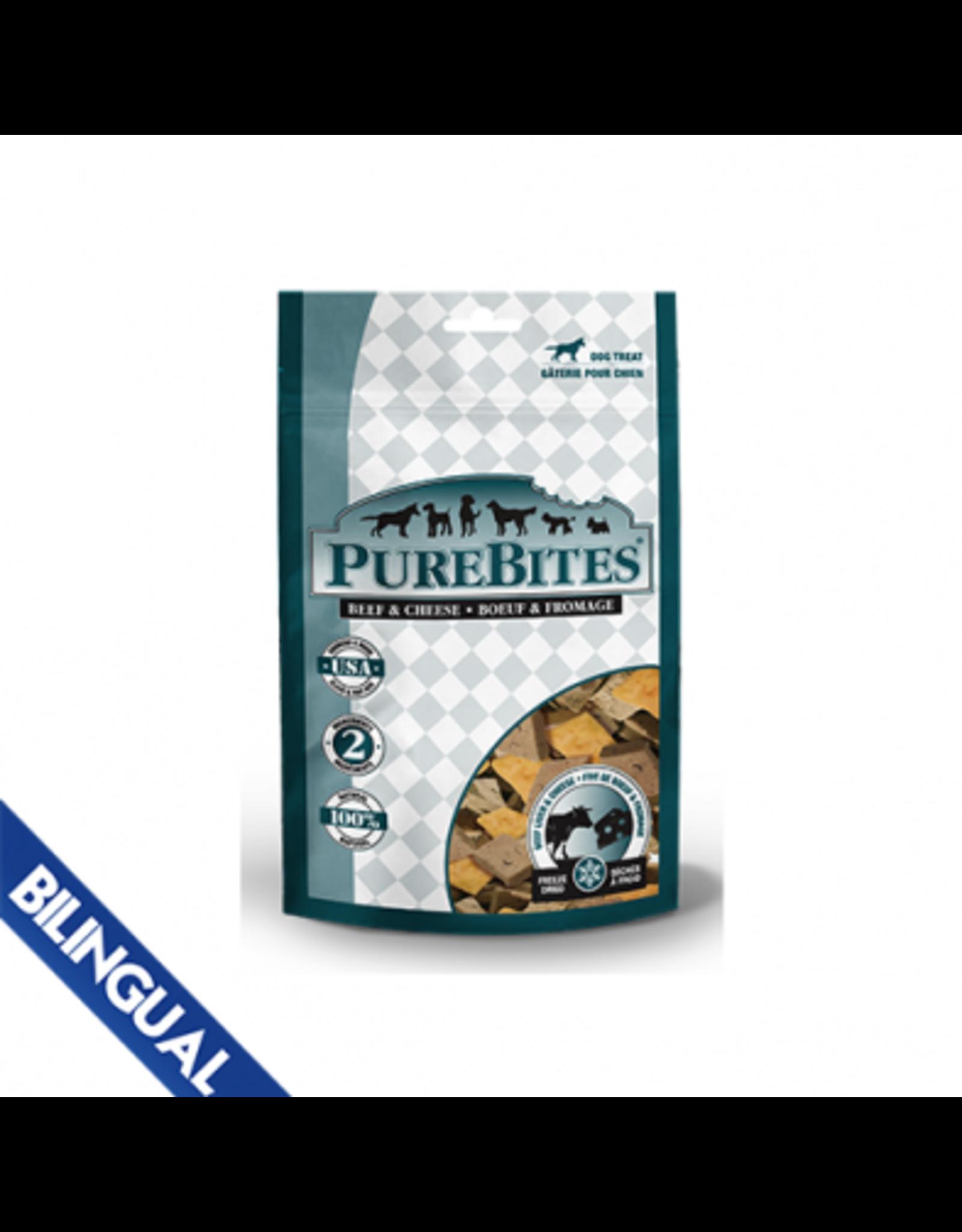 Purebites Purebites Dog Beef & Cheese Treats