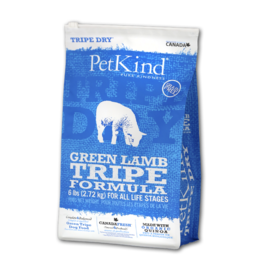 Petkind Petkind Green Lamb Tripe Dry Dog Food