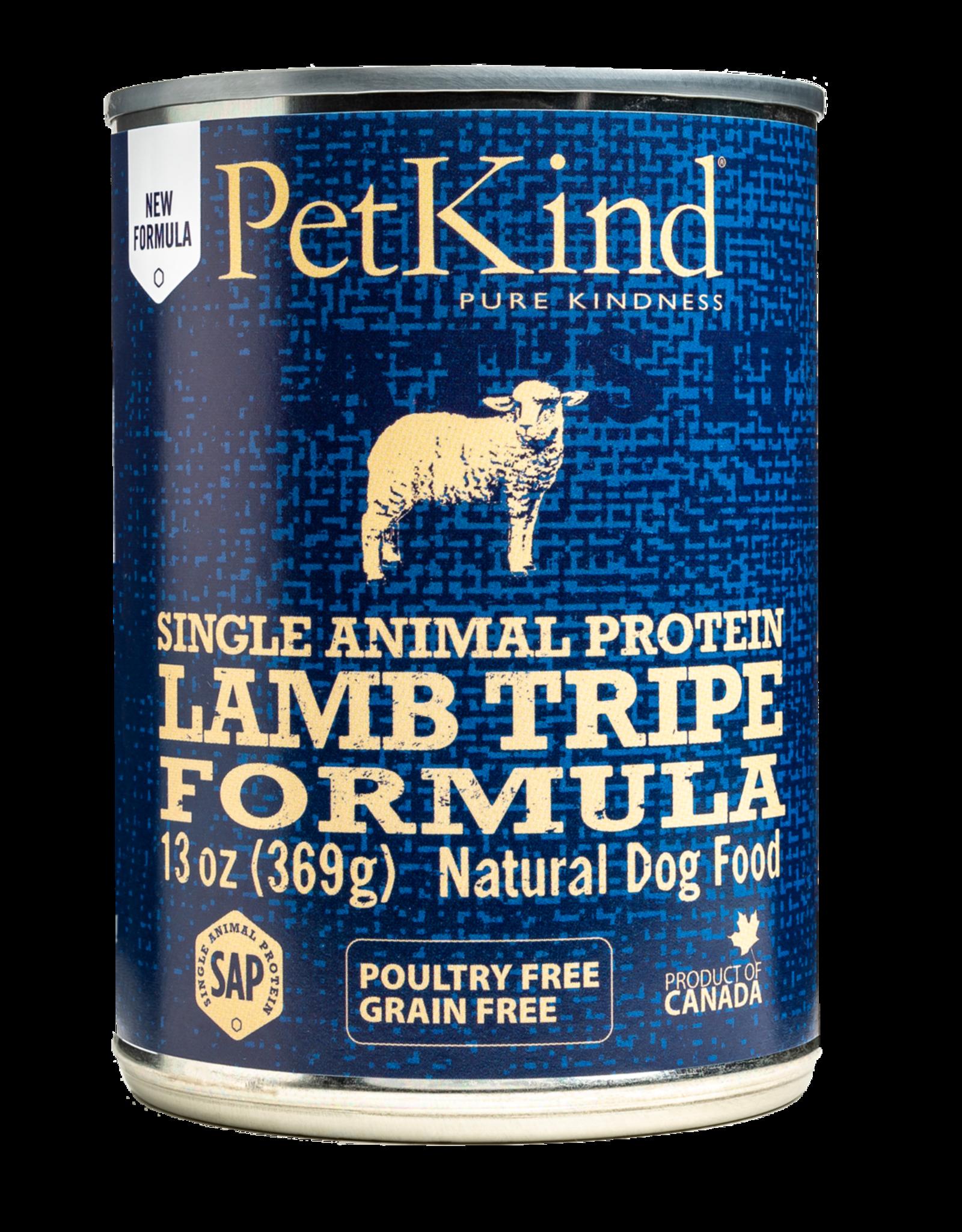 Petkind Petkind Dog SAP Lamb Tripe 13oz