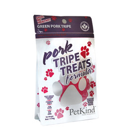 Petkind Tripett Dog Treats Pork 6oz