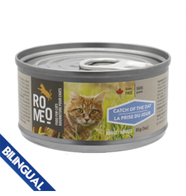 Romeo Romeo Cat Catch of the Day Canned Food