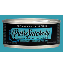 Fromm FROMM PURRSNICKETY SALMON PATE  5.5OZ single
