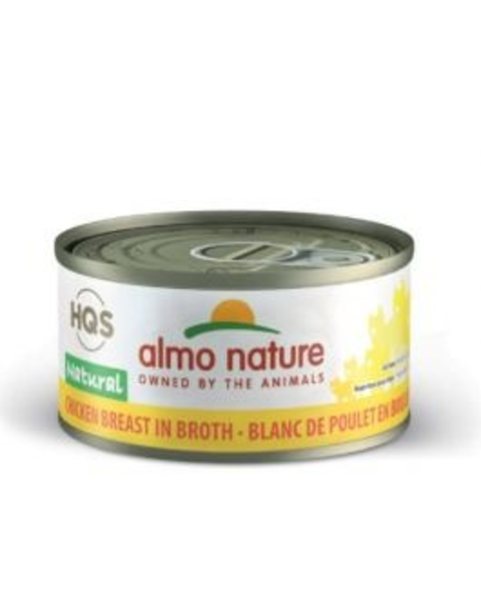 almo Almo Nature Natural Chicken Breast in Broth Kitten 70g
