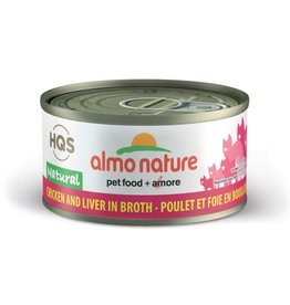 almo Almo Nature Natural Chicken and Liver in Broth Cat 70g