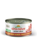 almo Almo Nature Natural Chicken with Shrimp in Broth Cat 70g