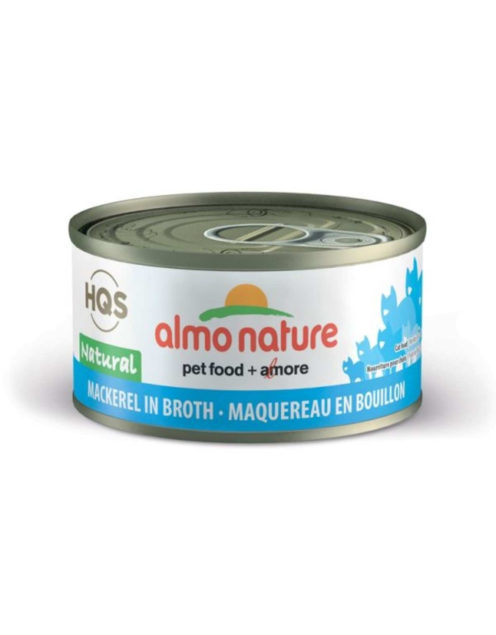almo Almo Nature Natural Mackerel in Broth Cat 70g