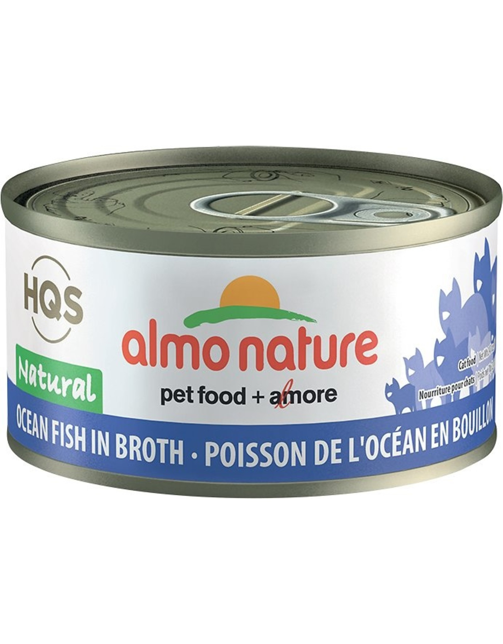 almo Almo Nature Natural Ocean Fish in Broth Cat 70g