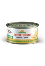 almo Almo Nature Natural Salmon and Chicken in Broth Cat 70g
