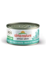 almo Almo Nature Natural Trout and Tuna in Broth Cat 70g