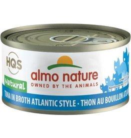 almo Almo Nature Natural Tuna in Broth Atlantic Style Cat 70g
