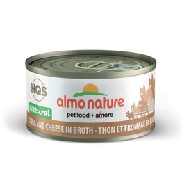 almo Almo Nature Natural Tuna with Cheese in Broth Cat 70g