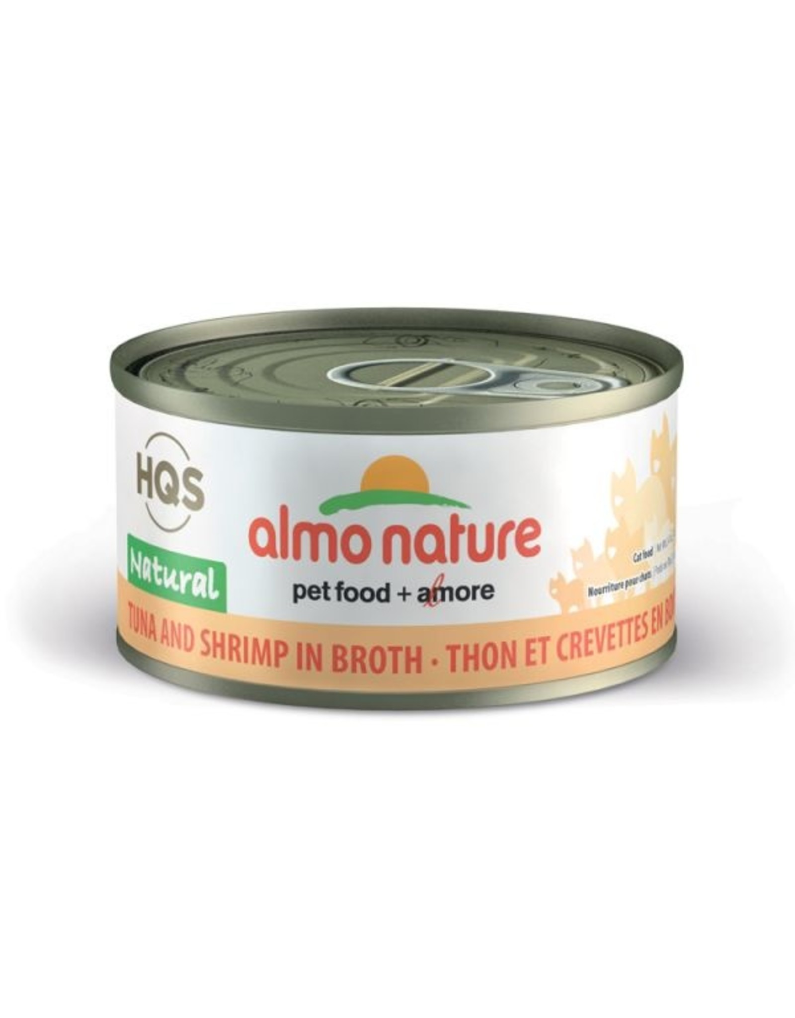 almo Almo Nature Natural Tuna with Shrimp in Broth Cat 70g
