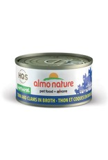 almo Almo Nature Natural Tuna and Clam in Broth Cat 70g