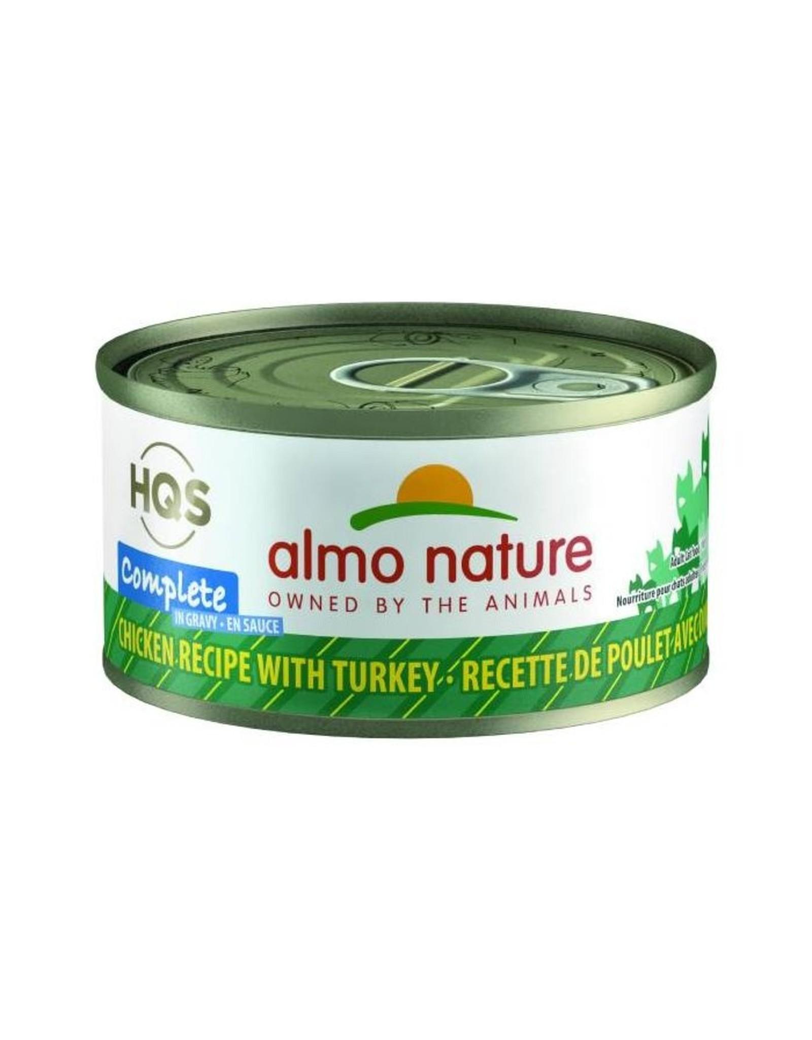 almo Almo Nature Complete Chicken with Turkey in Gravy Cat 70g