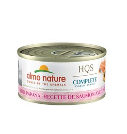 almo Almo Nature Complete Salmon and Papaya in Gravy Cat 70g